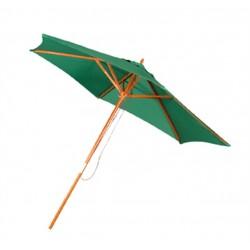 Parasol drewniany zielony śr. 250cm