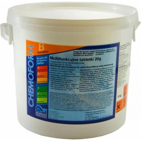 Chemochlor T Multitabletki 20g - 5kg