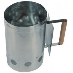 Rozpalacz kominowy do grilla wykonany ze stali