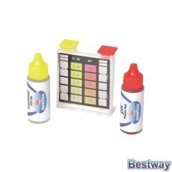 Tester pH poziom chloru i zasadowości w basenie i SPA