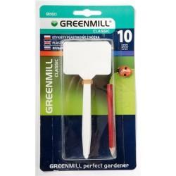 Etykiety plastikowe z ołówkiem