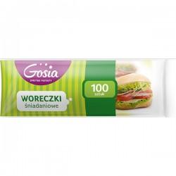 Woreczki śniadaniowe 100szt.