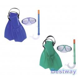 Zestaw do nurkowania (maska+rurka+płetwy)