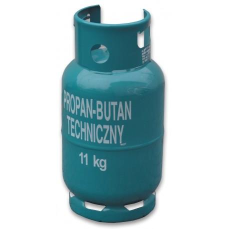Butla do gazu PROPAN-BUTAN - 11kg z kołnierzem