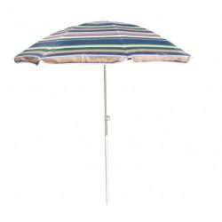 Parasol plażowy w 5-kolorowe pasy śr. 180cm