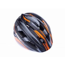 Kask dziecięcy rowerowy ROMET 509 roz.L szaro-pomarań