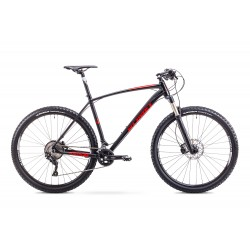 Romet MUSTANG 2 XL (18/29/21) czarno-czerwony