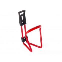 Koszyk bidonu aluminiowy ALUSTAR czerwony