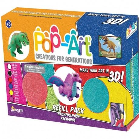 Zestaw masy plastycznej 6 kolorów