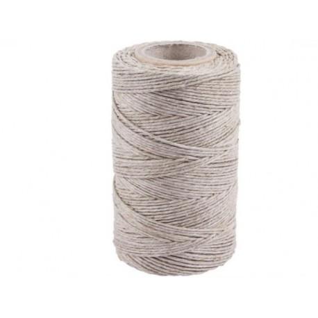 Sznur lniany wędliniarski matowy (240 C) - 100g