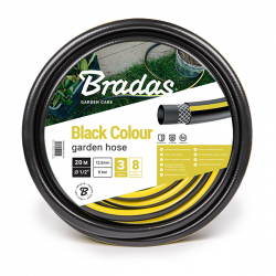 """Wąż ogrodowy BLACK COLOUR 1/2"""" - 30m"""