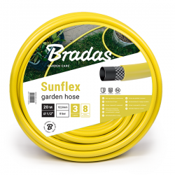 """Wąż ogrodowy SUNFLEX 1/2"""" - 20m"""