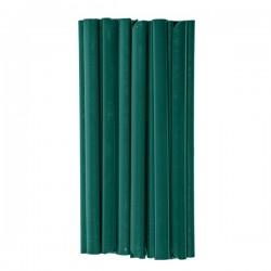 Klipsy do taśm ogrodzeniowych - zielone