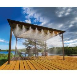 Ogrodowa mgiełka wodna - zestaw 7,5m