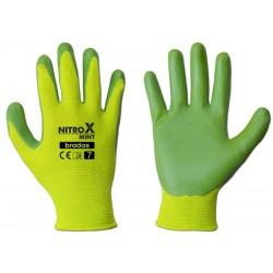 Rękawice ochronne NITROX MINT rozmiar 6 nitryl