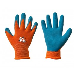 Rękawice ochronne ORANGE rozmiar 4 lateks