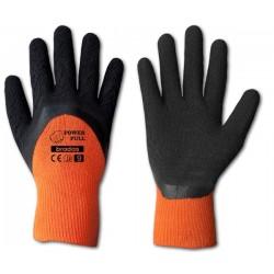 Rękawice ochronne POWER FULL rozmiar 11 lateks
