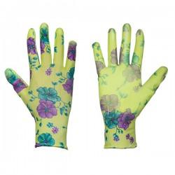 Rękawice ochronne PURE FLOXY rozmiar 8 poliuretan