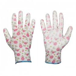 Rękawice ochronne PURE PRETTY rozmiar 7 poliuretan