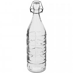 Butelka 1L z hermetycznym zamknięciem - groszki