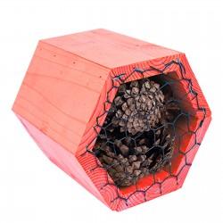 Domek dla pożytecznych owadów 16x14x14cm