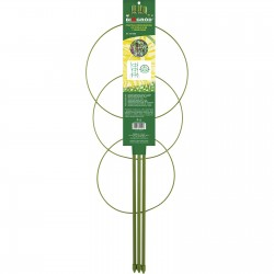 Podpora pierścieniowa do roślin 3 pierśc 150cm