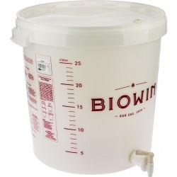 Pojemnik fermentacyjny 30L z kranem BIOWIN