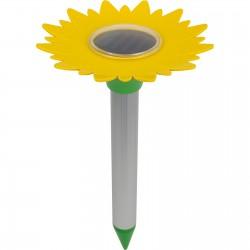 Odstraszacz kretów zasilany baterią słoneczna - kwiat