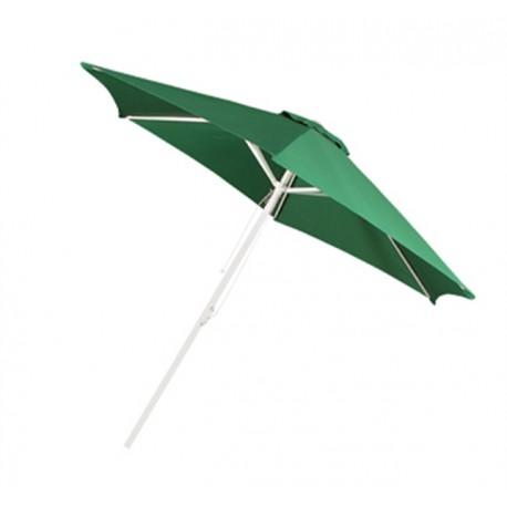 Parasol aluminiowy zielony