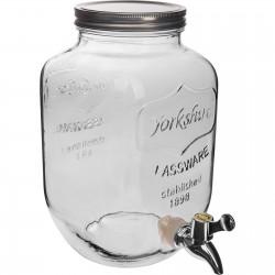 Słój Lemoniadolandia - biały, 4 L