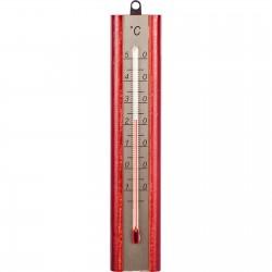 Termometr pokojowy ze złotą skalą 200x40mm