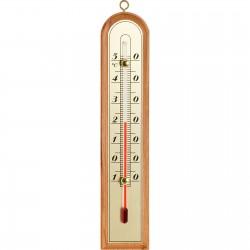 Termometr pokojowy ze złotą skalą 210x43mm