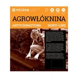 MR Agrowłóknina HORTI-LINE czarna 1,6x10m antychwastowa