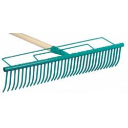 Grabie do trawników 32 zębne z trzonkiem