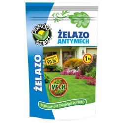 Nawóz na trawnik Żelazo-Antymech - 1kg