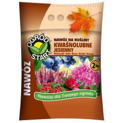 Nawóz na rośliny kwaśnolubne jesienny - 2kg