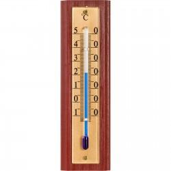 Termometr pokojowy ze złotą skalą 125x35mm