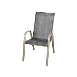 Krzesło metalowe BERGAMO