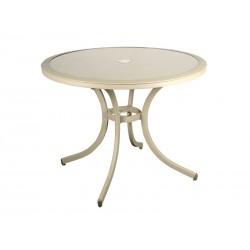 Stół okrągły aluminiowy SAVONA
