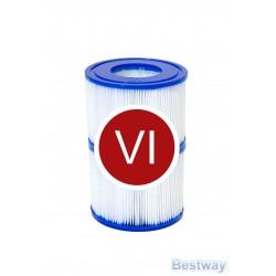 Wkład filtracyjny typ VI