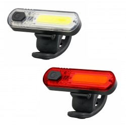 Zestaw lamp rowerowych Mactronic DuoSlim 60 lm/18 lm