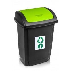 Kosz na śmieci Swing 25L - zielony