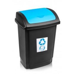 Kosz na śmieci Swing 25L - niebieski