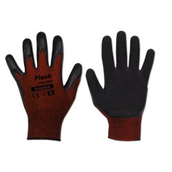 Rękawice ochronne FLASH GRIP RED rozmiar 6 lateks