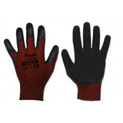 Rękawice ochronne FLASH GRIP RED rozmiar 7 lateks