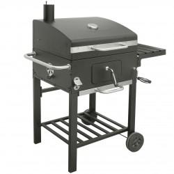 Grill węglowy wózek COMFORT BASIC+ z żeliwem