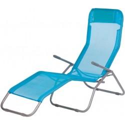 Leżak plażowy dwupozycyjny z poduszką FIDJI