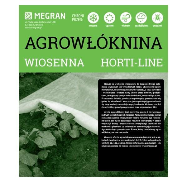 Agrowłóknina HORTI-LINE wiosenna 2,1x5m