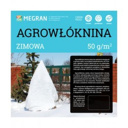 Agrowłóknina 50g/m2 zimowa 0,8x100m