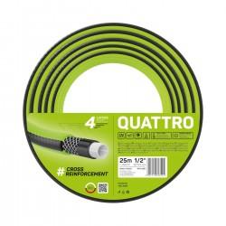 """Wąż ogrodowy Quattro 1/2"""" 25m"""